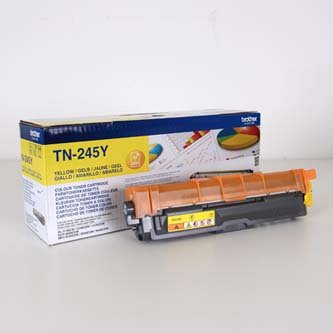 Brother oryginalny toner TN245Y. yellow. 2200s. Brother HL-3140CW. 3170CW TN245Y