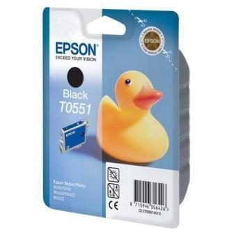 Epson oryginalny wkład atramentowy / tusz C13T055140. black. 290s. 8ml. Epson Stylus Photo RX425. 420 C13T05514010