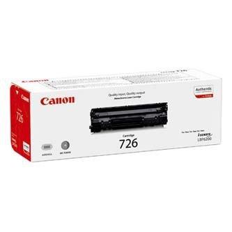 Canon oryginalny toner CRG726. black. 2100s. 3483B002. Canon i-SENSYS LBP-6200d 3483B002