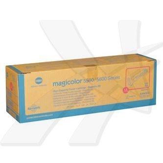 Konica Minolta oryginalny toner A06V353. magenta. 12000s. Konica Minolta Magicolor 5550. 5570 A06V353
