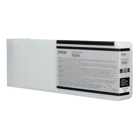 Epson oryginalny wkład atramentowy / tusz C13T636100. photo black. 700ml. Epson Stylus Pro 7900. 9900 C13T636100