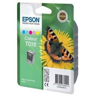 Epson oryginalny wkład atramentowy / tusz C13T016401. color. 253s. 66ml. Epson Stylus Photo 2000p C13T01640110