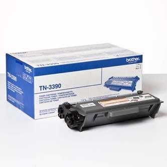 Brother oryginalny toner TN3390. black. 12000s. Brother HL-6180. DCP-8250 TN3390
