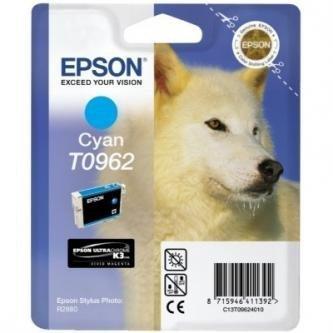 Epson oryginalny wkład atramentowy / tusz C13T09624010. cyan. 13ml. Epson Stylus Photo R2880