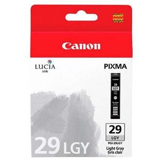 Canon oryginalny wkład atramentowy / tusz PGI29 Light Grey. light grey. 4872B001. Canon PIXMA Pro 1 4872B001