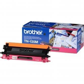 Brother oryginalny toner TN135M. magenta. 4000s. Brother HL-4040CN. 4050CDN. DCP-9040CN. 9045CDN. MFC-9440C TN135M