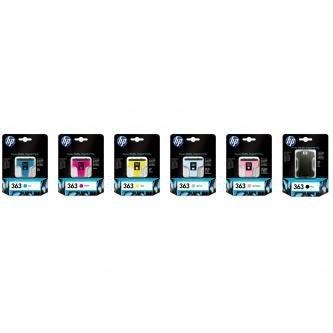 HP oryginalny wkład atramentowy / tusz C8775EE. No.363. light magenta. 5.5ml. HP Photosmart 8250. 3210. 3310. C5180. C6180. C7180
