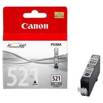 Canon oryginalny wkład atramentowy / tusz CLI521GY. grey. 1395s. 9ml. 2937B001. Canon MP980 2937B001