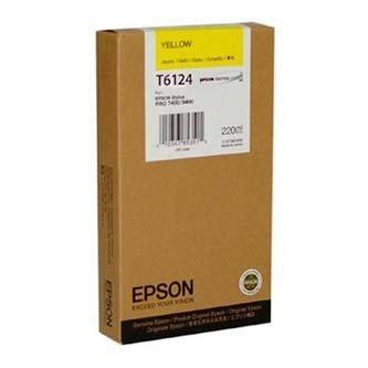 Epson oryginalny wkład atramentowy / tusz C13T612400. yellow. 220ml. Epson Stylus Pro 7400. 7450. 9400. 9450 C13T612400