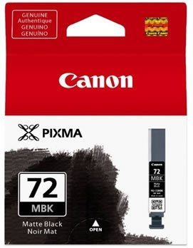 Canon oryginalny wkład atramentowy / tusz PGI72MBK. matte black. 14ml. 6402B001. Canon Pixma PRO-10 6402B001