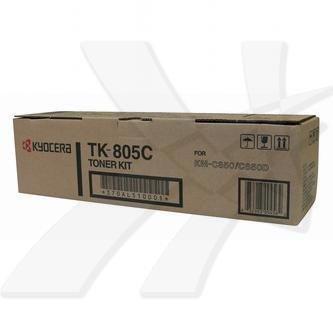 Kyocera Mita oryginalny toner TK805C. cyan. 10000s. 370AL510. Kyocera Mita KM-C850 370AL510