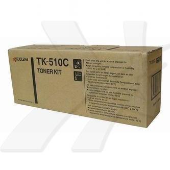 Kyocera Mita oryginalny toner TK510C. cyan. 8000s. 1T02F3CEU0. Kyocera Mita FS-C5020N 1T02F3CEU0