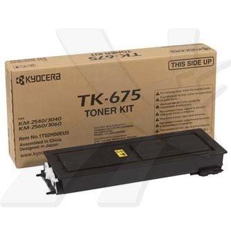 Kyocera Mita oryginalny toner TK675. black. 20000s. 1T02H00EU0. Kyocera Mita KM-2540. 2560. 3060 1T02H00EU0