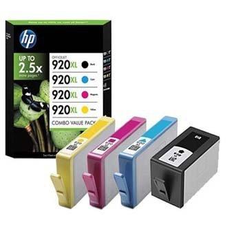 HP oryginalny wkład atramentowy / tusz C2N92AE. CMYK. No.920XL. HP C2N92AE