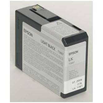 Epson oryginalny wkład atramentowy / tusz C13T580700. light black. 80ml. Epson Stylus Pro 3800