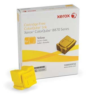 Xerox oryginalny wkład atramentowy / tusz 108R00956. yellow. 17300s. Xerox ColorQube 8870. Europa Zachodnia 108R00956