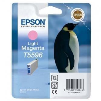 Epson oryginalny wkład atramentowy / tusz C13T55964010. light magenta. 13ml. Epson Stylus Photo RX700 C13T55964010