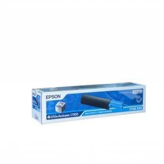 Epson oryginalny toner C13S050189. cyan. 4000s. high capacity. Epson AcuLaser C1100. 1100N. CX11N. 11NF. 11NFC C13S050189
