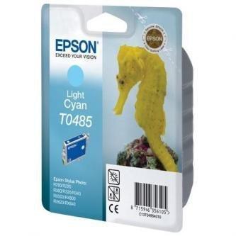 Epson oryginalny wkład atramentowy / tusz C13T048540. light cyan. 430s. 13ml. Epson Stylus Photo R200/220/300/320/340/RX500/600/620 C13T04854010