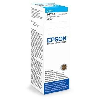 Epson oryginalny wkład atramentowy / tusz C13T67324A. cyan. 70ml. Epson L800 C13T67324A