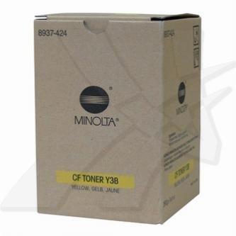Konica Minolta oryginalny toner 8937424. yellow. 10000s. CF Y3B. Konica Minolta CF-1501. 2001. 1x290g 8937424