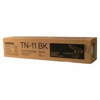 Brother oryginalny toner TN11BK. black. 8500s. Brother HL-4000CN TN11BK