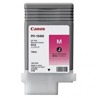 Canon oryginalny wkład atramentowy / tusz PFI104M. magenta. 130ml. 3631B001. ploter iPF65x. 75x 3631B001