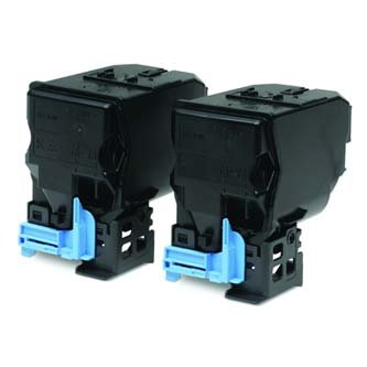 Epson oryginalny toner C13S050594. black. 2x6000s. Epson AcuLaser C3900N. Dual pack dwupack C13S050594