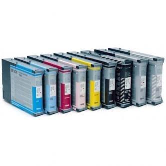 Epson oryginalny wkład atramentowy / tusz C13T614200. cyan. 220ml. Epson Stylus pro 4400. 4450 C13T614200