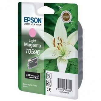 Epson oryginalny wkład atramentowy / tusz C13T059640. light magenta. 13ml. Epson Stylus Photo R2400 C13T05964010