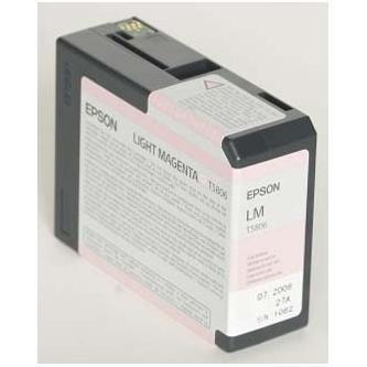 Epson oryginalny wkład atramentowy / tusz C13T580600. light magenta. 80ml. Epson Stylus Pro 3800
