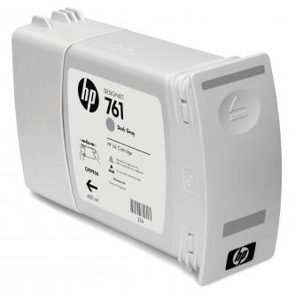 HP oryginalny wkład atramentowy / tusz CM996A. dark grey. 400ml. No.761. HP DesignJet T7100 CM996A