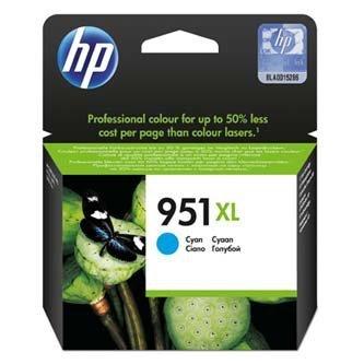 HP oryginalny wkład atramentowy / tusz CN046AE. No.951XL. cyan. 1500s. 24ml. HP Officejet Pro 8100 ePrinter CN046AE