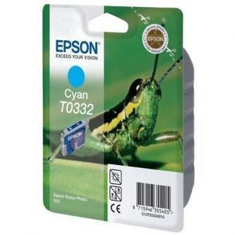 Epson oryginalny wkład atramentowy / tusz C13T033240, cyan, 440s, 17ml, Epson Stylus Photo 950