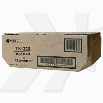 Kyocera Mita oryginalny toner TK320. black. 15000s. 1T02F90EU0. Kyocera Mita FS-3900DN. 4000DN 1T02F90EU0