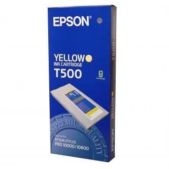 Epson oryginalny wkład atramentowy / tusz C13T500011. yellow. 500ml. Epson Stylus Pro 10000 C13T500011