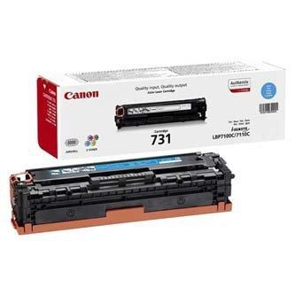 Canon oryginalny toner CRG731. cyan. 1500s. 6271B002. Canon i-SENSYS LBP-7100Cn. 7110Cw. MF 8280Cw 6271B002