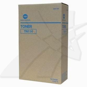 Konica Minolta oryginalny toner TN114. black. 22000 (2x11000)s. 8937-784. Konica Minolta Bizhub 162. 210. Di152. 183. 1611. F. 201 8937784
