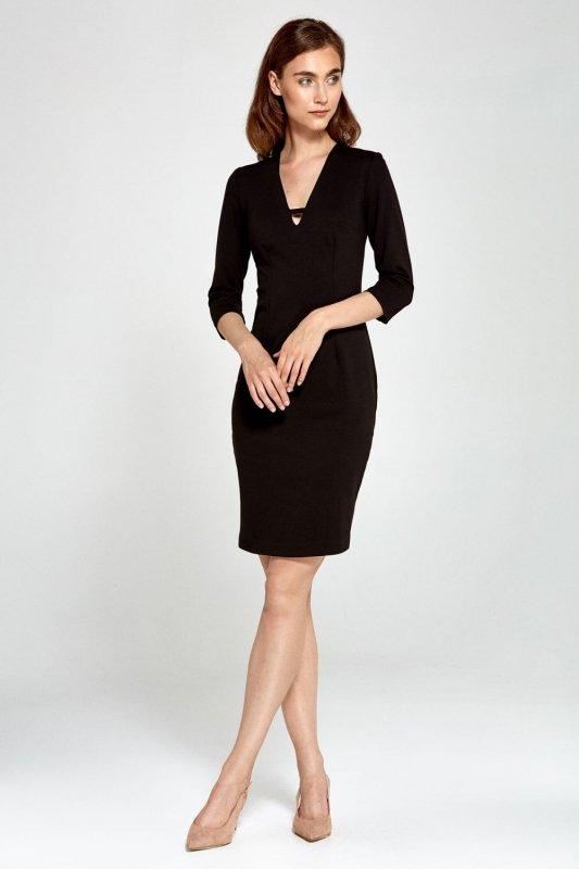 Sukienka s92 - czarny - S92