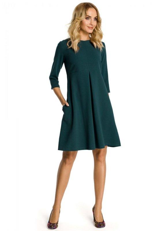 M338 sukienka zielona