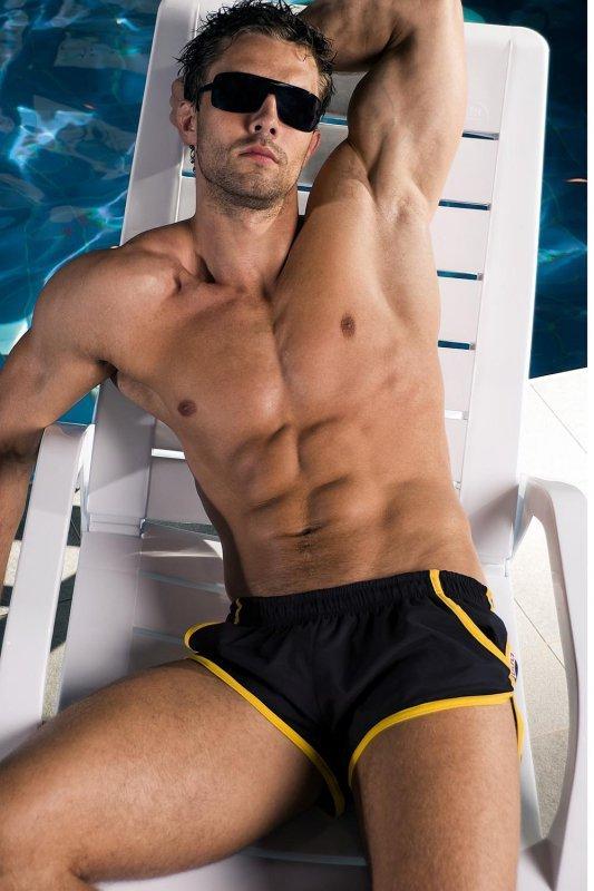 Kostium kąpielowy Alpha Male Imago black