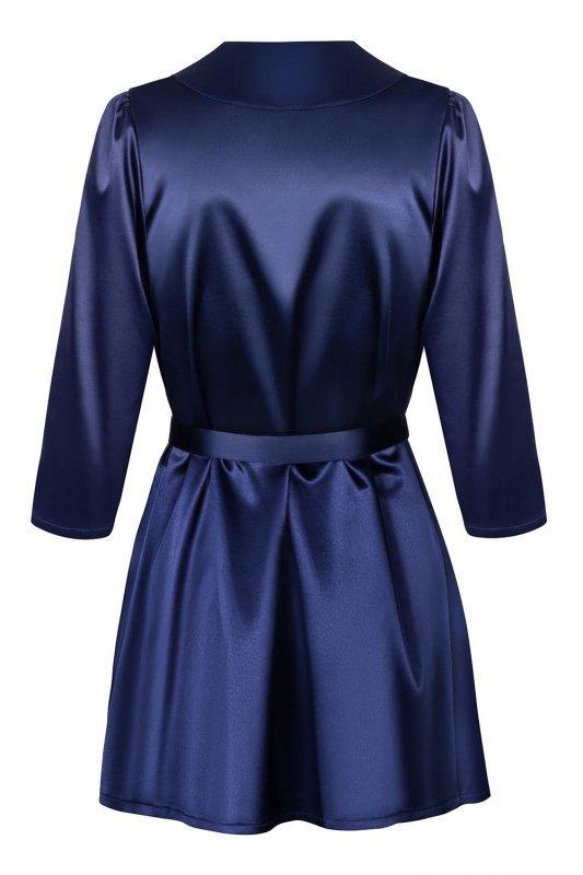 Obsessive Satinia robe dark blue