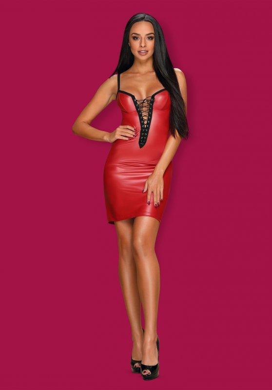 Redella sukienka czerwona  S/M