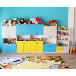 Zestaw szafek przedszkolnych nr 6