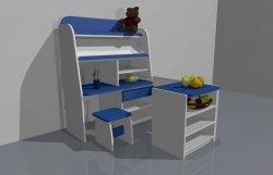 Zestaw szafek sklep dla dzieci