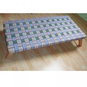 Leżak przedszkolny drewniany