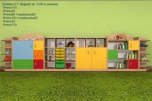 Zestaw mebli przedszkolnych, Primo 7