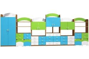 Zestaw szafek przedszkolnych nr 21