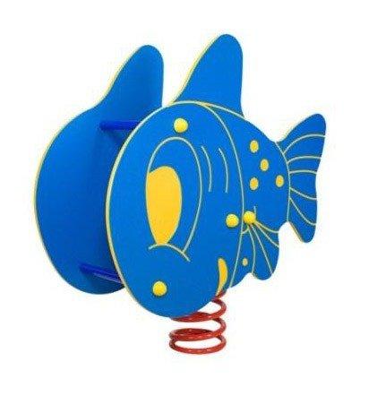 bujak ryba, bujak na plac zabaw,sprężynowiec ryba