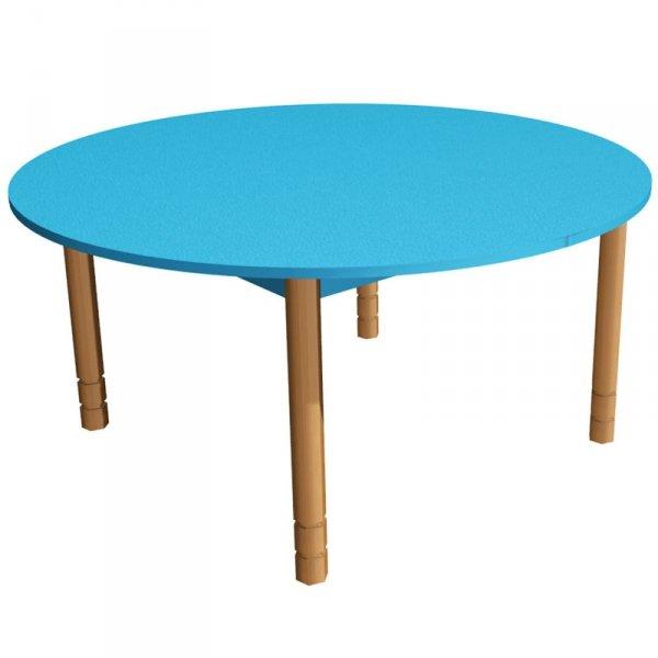stolik przedszkolny drewniany prostokątny, stolik na drewnianych nogach, stolik drewniany, stolik przedszkolny, stół do przedszkola, stolik przedszkolny okrągły, stół okrągły